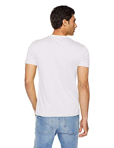 Jockey Men's T-Shirt (2714-0105-WHITE_White_M)