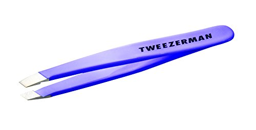 Tweezerman 1248-LLR - Pinza mini biselada, color lavanda