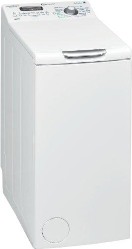 Bauknecht WAT UNIQ 65 AAA Waschmaschine Toplader / A+++ A / 1200 UpM / 6.5 kg / Weiß / besonders leise / Vollwasserschutz / FLD-display /Mengenautomatik / Vollwasserschutz