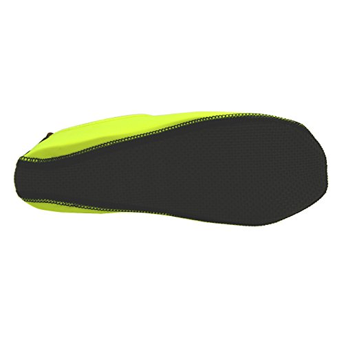 Zapatos Antideslizantes De Roca - Zapatos De Inmersión De Secado Rápido Wincret Para El Jardín De Yoga De Natación En La Playa - Apto Para Hombres, Mujeres Y Niños Verdes Fluorescentes
