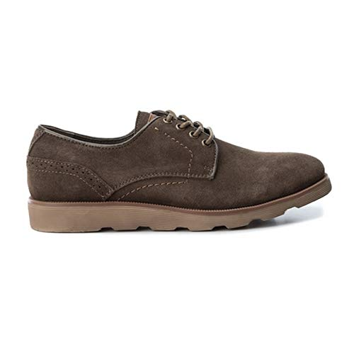Zapatos XTI 40 Hombre Marrón 48172 Serraje Taupe