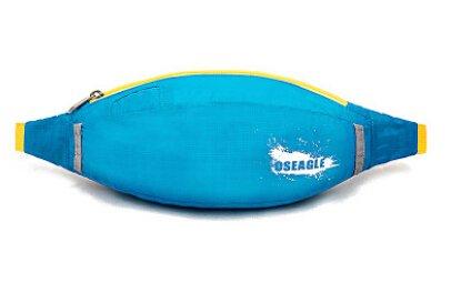 Cinny Fuß reisen Bergsteigen Wasserkocher Reiten Sport wasserdicht Mehrzwecktaschen Blue