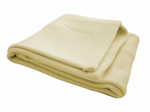 Italbaby 020.2150 Decke aus Vliesstoff für Kinderbett, 100 x 150 cm beige