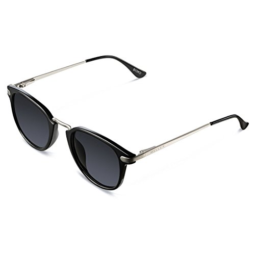 Meller Bioko Tutzetae Carbon UV400 Polarised Unisex Sunglasses