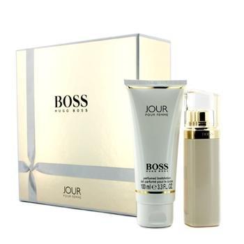 Hugo Boss Jour pour Femme Set (Eau de Parfum, 50 ml+Bodylotion, 100 ml), 1er Pack(1 x 1 Stück)