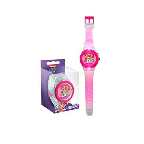 PAW PATROL - Skye Reloj Digital Transparente Kids PW16126