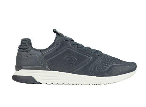 Champion Low Cut Shoe Legacy Nylon Embo, Chaussures de Running Compétition Homme Gris (Phantom Es503)