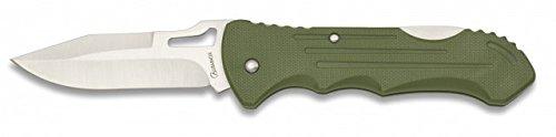 Albainox Taschenmesser Einhandmesser mit Back-Lock 8cm Klinge Grün