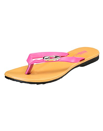 Yepme Women's Pink Synthetic Sandal YPWFOOT7091_4  available at amazon for Rs.279