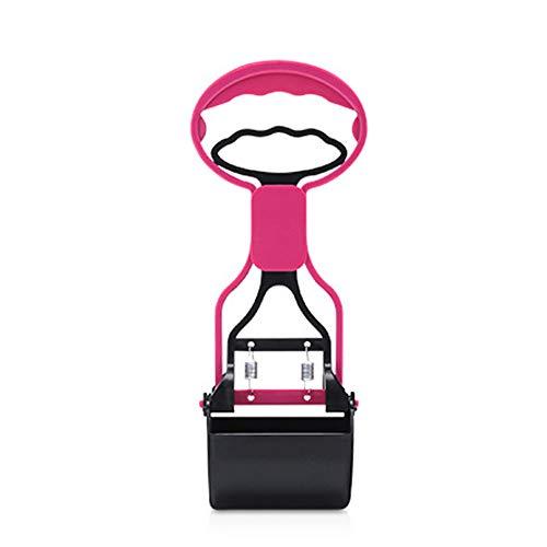SOOKi Tragbare Backenklemme Pet Pooper Scooper Lange Griffbacke Clamp Poop Hund Sanitär Abfälle Abholung Clean Tool Poop Pic,Pink