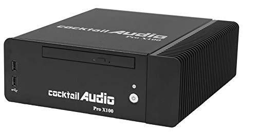 Hoch-cocktail (Cocktail Audio Pro X100 Hohe Auflösung Digital-Streamer, NAS und Ripper mit DSD / DXD Wiedergabe mit 2TB HDD)