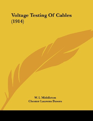 Voltage Testing of Cables (1914)