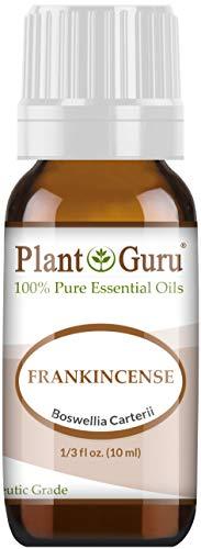 Frankincense Essential Oil (Boswellia Carteri) 10 ml. 100% Pure, Undiluted, Therapeutic Grade. by Plant Guru
