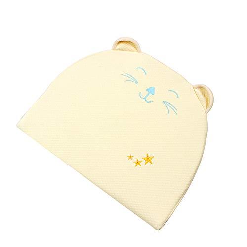 Babykissen Multifunktionale Kissen Gegen Plattkopf Vorsorge Der Plagiozephalie Baby Pillow Memory Schaum Orthopädisches Kissen Ergonomisches Babykopfkissen Anti-Allergen UnisexKinderkissen -