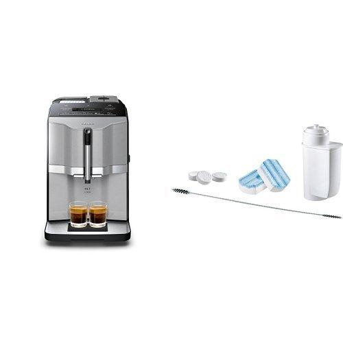 Siemens TI303503DE Kaffeevollautomat EQ.3 s300 + Siemens TZ80004 Pflegeset