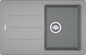 Franke Basis BFG 611 Steingrau Fragranit-Spüle Auflage Küchenspüle Spülbecken