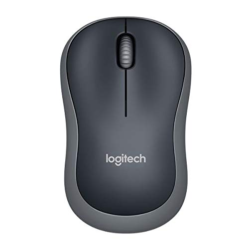 Logitech M185 schnurlos Maus (USB, kompatible mit Windows, Mac, Linux) grau -