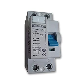 Zenitech - Interrupteur différentiel 40/2 30mA Type A NF