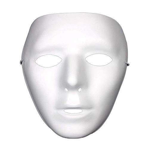 ZHAORLL Mode Geist Kopf Masked Hip Hop Street Dance Halloween Party Kostüm Maskerade Maske, Zweiteilige (Männer/Frauen)