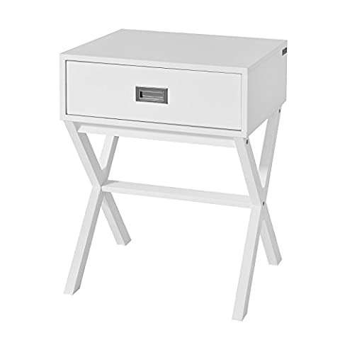 Table De Nuit Ronde - SoBuy® FRG174-W Table de Chevet Bout de