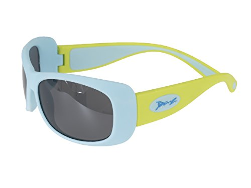Banz Sonnenbrille für Junioren (6bis 10Jahre, aqua/lime flexerz)