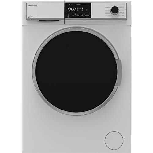 Sharp ES-HFH8147W3 A+++ Rated Freestanding Washing Machine - White