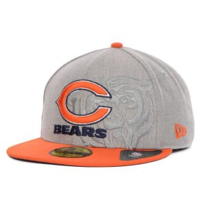 New Era Herren Fitted Cap Team Screening Chicago Bears 59Fifty grau grau 7 1/8 - 56,8cm -