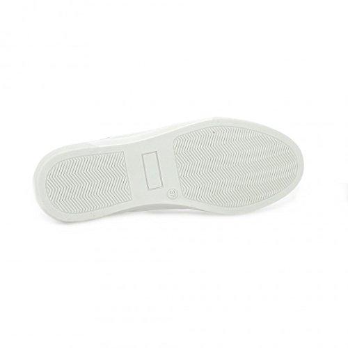 So send Baskets cuir blanc Blanc