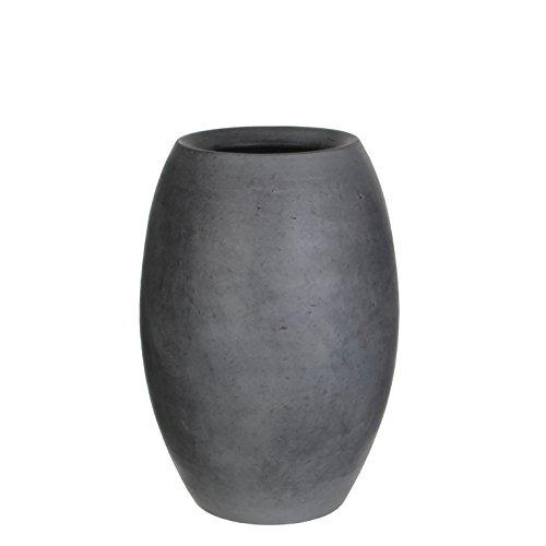 Mica decorations 240677 Vase, Vera, grau