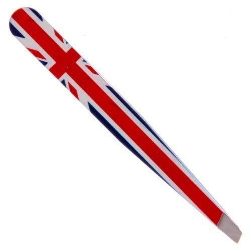 Subito Disponibile 5 Pezzi Pinzette für Augenbrauen mit Englisch Flagge Britische Union -