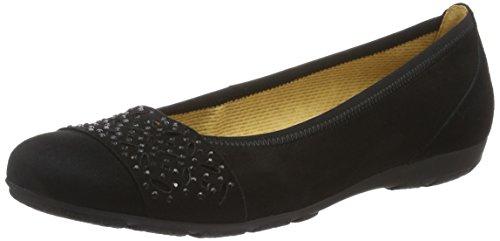 Gabor Shoes Damen Fashion Geschlossene Ballerinas, Schwarz (Schwarz 17), 40.5 EU