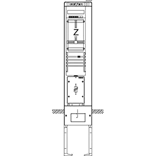 ABN Braun-ABN Zhleranschlusssule 1ZP, TT, TEAG SZ202EN9