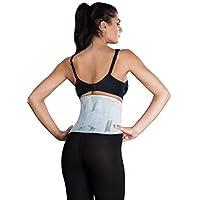 "Atmungsaktive Rückenbandage, Rückenstütze""LOREY-LU10077"" aus elastischem Netzgewebe"