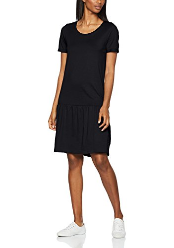 SELECTED FEMME Damen Kleid Sfmy Perfect SS New Dress, Schwarz (Black Black), 34 (Herstellergröße: XS)
