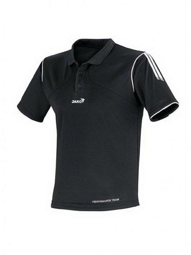 Jako Polo Hemd Performance schwarz