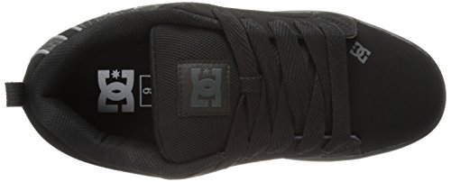 DC Shoes Court Graffik, Chaussures de skate homme Nero (Black/Grey/Black)