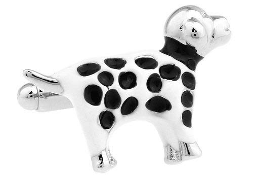 Nouveaut Spotted Dog Boutons de manchette avec Alfred & Co. Boutons de manchette Box