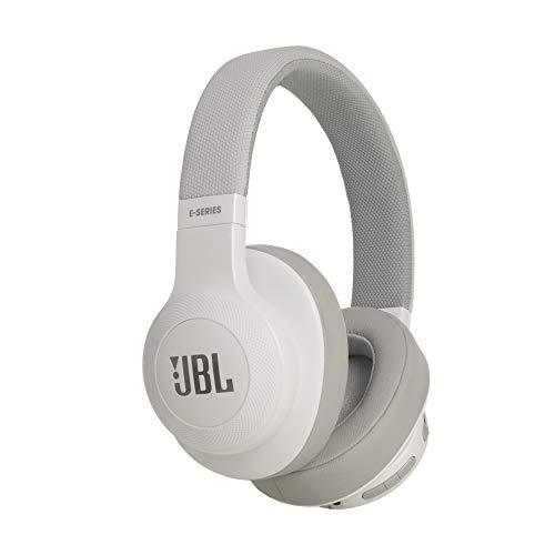 JBL E55BT Over Ear Bluetooth Kopfhörer in Weiß – Wireless Headphones mit integriertem Headset – Musikgenuss für bis zu 20 Stunden thumbnail