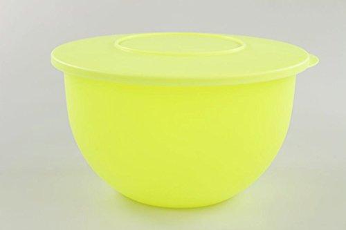 TUPPERWARE Junge Welle Schüssel 4,3 L NEON gelb Servierschüssel Servieren Schale 17247