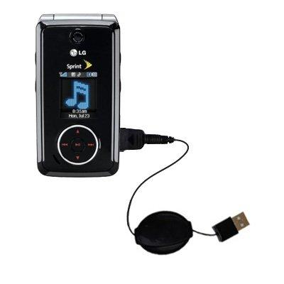 Das ausziehbare Lade über USB für LG LX570 / LX-570 Erfüllt beide Funktionen
