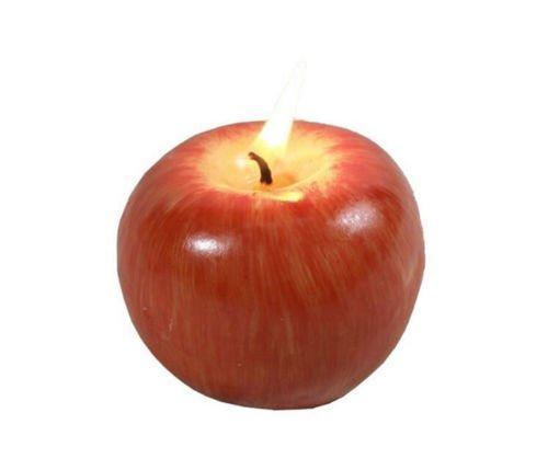 Simulation Red Apple geformte Duftkerzen Hochzeit Geburtstag, klein