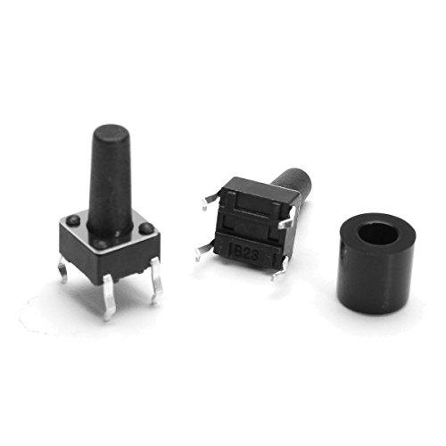 GIlH Machifit 3pcs 22mm Digital Voltmeter AC 20-500V Voltage Meter Gauge Digital Display Indicator Lamp Garmin Single