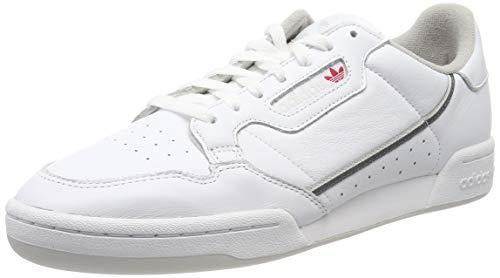 adidas Continental 80, Zapatillas para Hombre, Blanco (Footwear White Grey 0), 43 1/3 EU