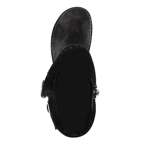 Birkenstock Westford Sheepskin Vl, Bottes femme Noir (Black)