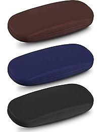 3 Piezas Estuche de Gafas Caja Dura de Gafas de Sol con Paño de Gafas