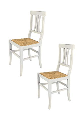 Tommychairs - Set 2 sillas Shabby Chic Arte POVERA