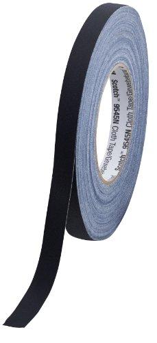 Scotch 9545N B15 Gewebeband, 1 Rolle, 15 mm x 50 m, schwarz