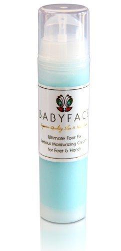 Babyface Ultimate pie Fix con ácido hialurónico–Piel muy seca. Get suave pies.