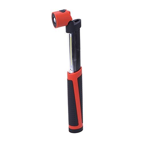 Filmer 56108 Arbeitslichtleuchte mit Magnet Maxi SMD LED und 1 W LED, schwarz/rot 56108