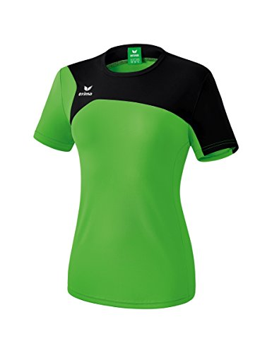 Erima Damen Club 1900 2.0 T-Shirt, green/schwarz, 38